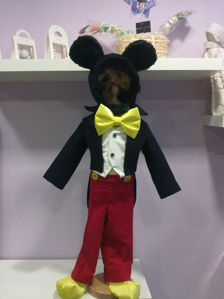 disfraces  mickey mouse de gala