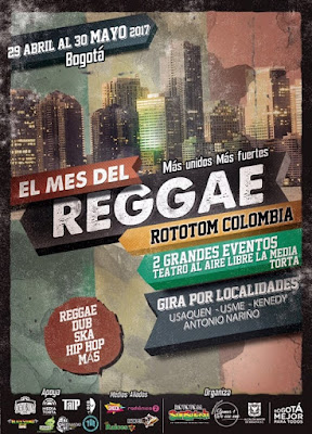 Mes del Reggae Bogotá 2017