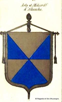 Bannière des Arts et Métiers d'Auvergne, Allanche
