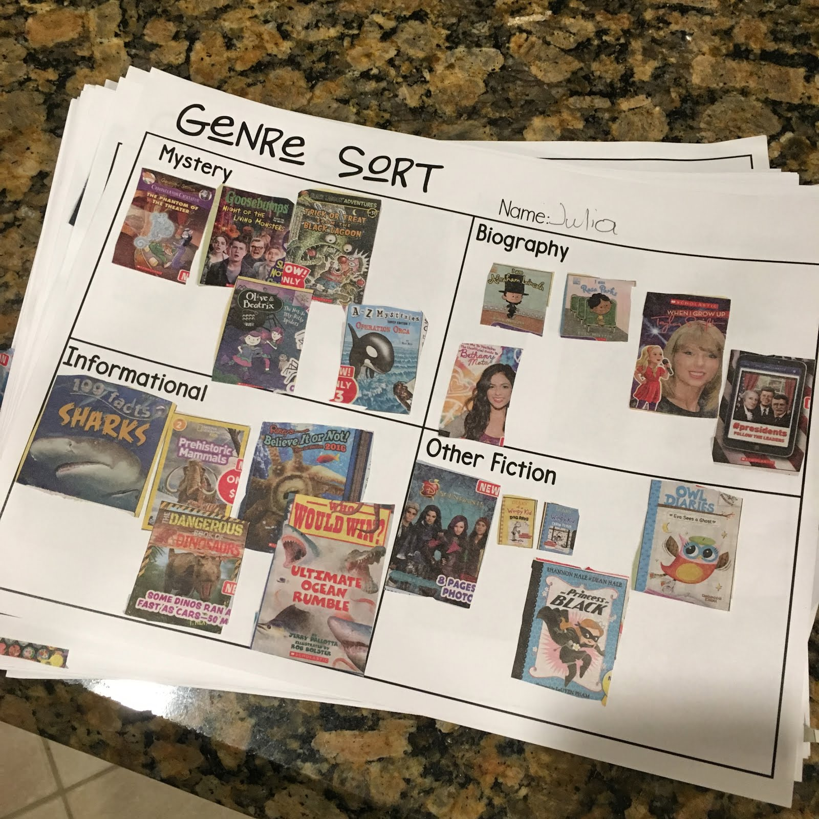 Resources For Teaching Genre