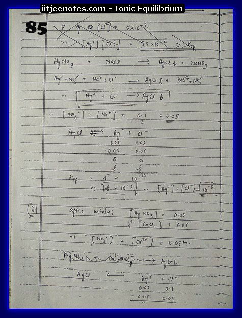 ionic equilibrium class question4