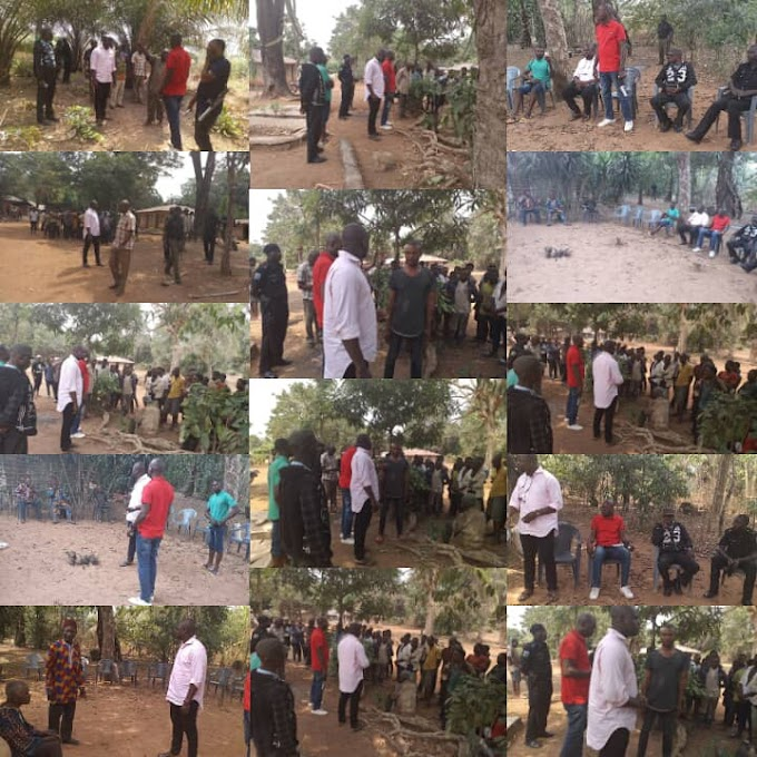 SSA NORTH MR LEO INYAMBE AND   THE NIGERIAN POLICE FORCE QUELLS BLOODY CRISIS BETWEEN TWO COMMUNITIES  IN OGOJA.