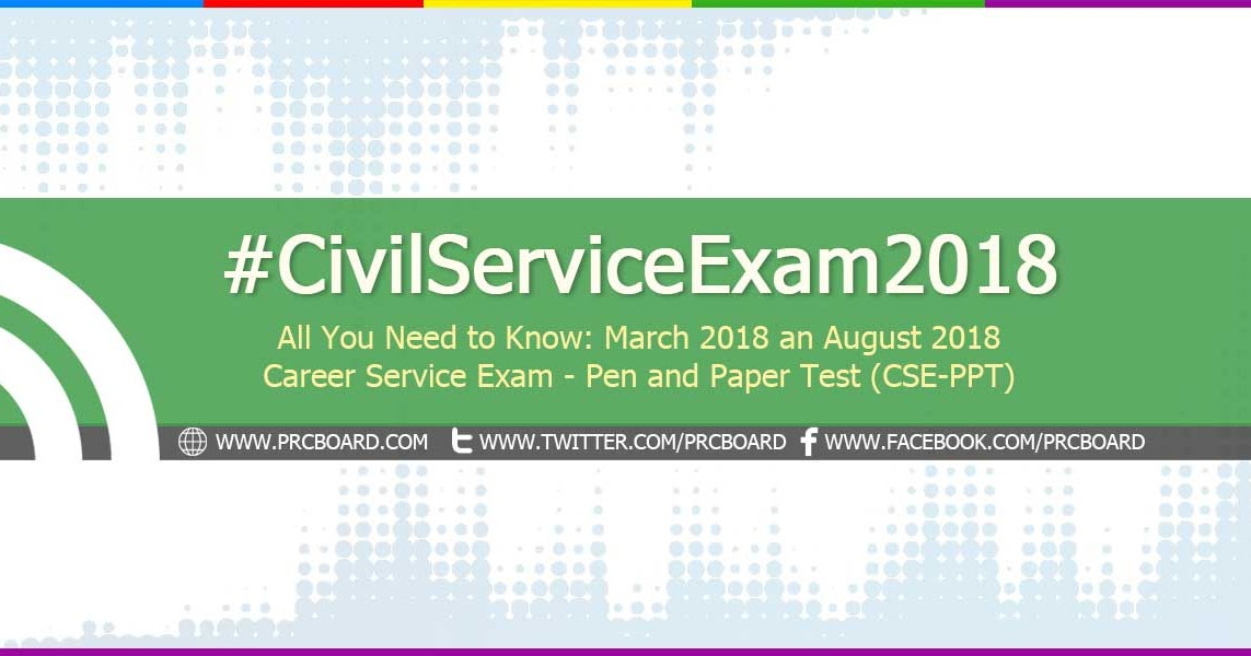 Details August  Civil Service Exam Cse Application Schedule