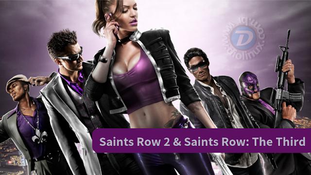 Saints Row 2 e 3 para Linux