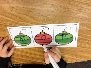 Sound boxes help students attend to sounds in words to help them read and write them.