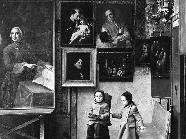 Fulvio Roiter, Mercatino Antiquariato, 1970