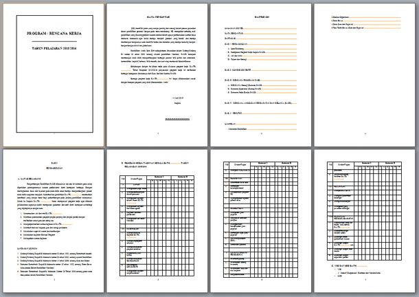 Berikut ini ialah berkas Contoh Format Program Rencana Kerja TK RA PAUD Contoh Format Program Rencana Kerja TK RA PAUD