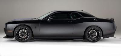 Nexen Tire custom Purple Heart Dodge Challenger build