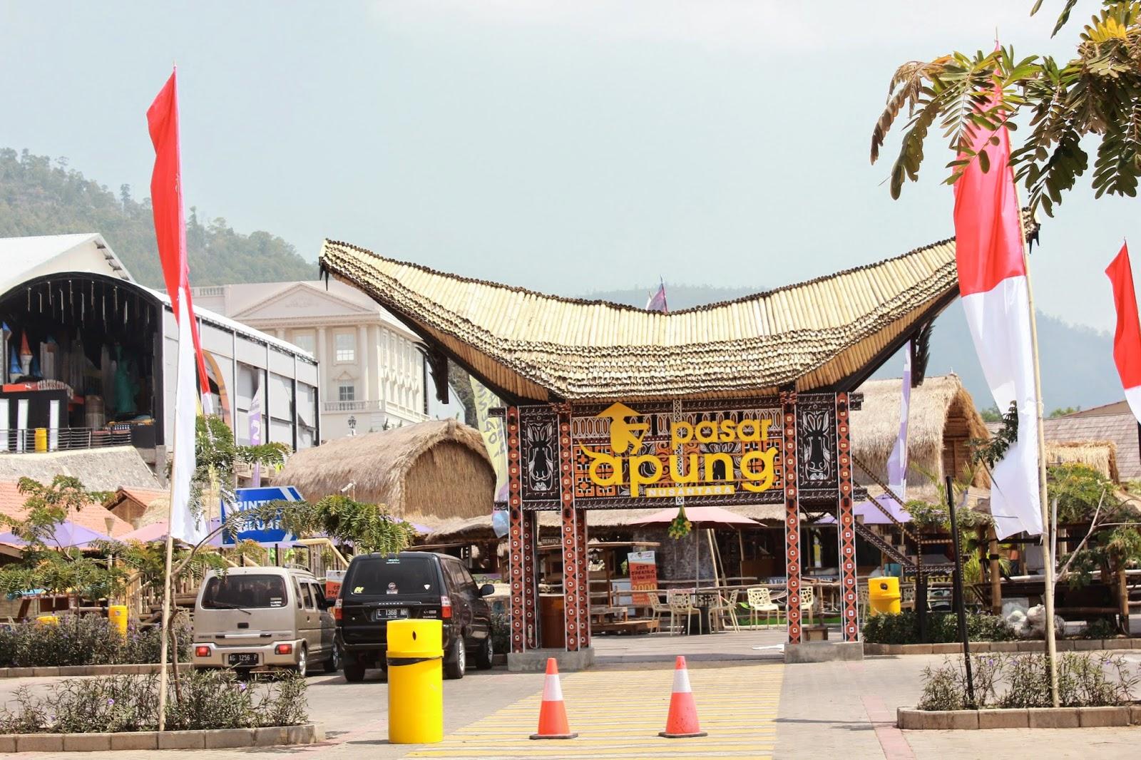Pasar Apung Nusantara museum angkut