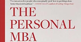 MBA Personal Josh Kaufman Audiolibro Audiobooks Product