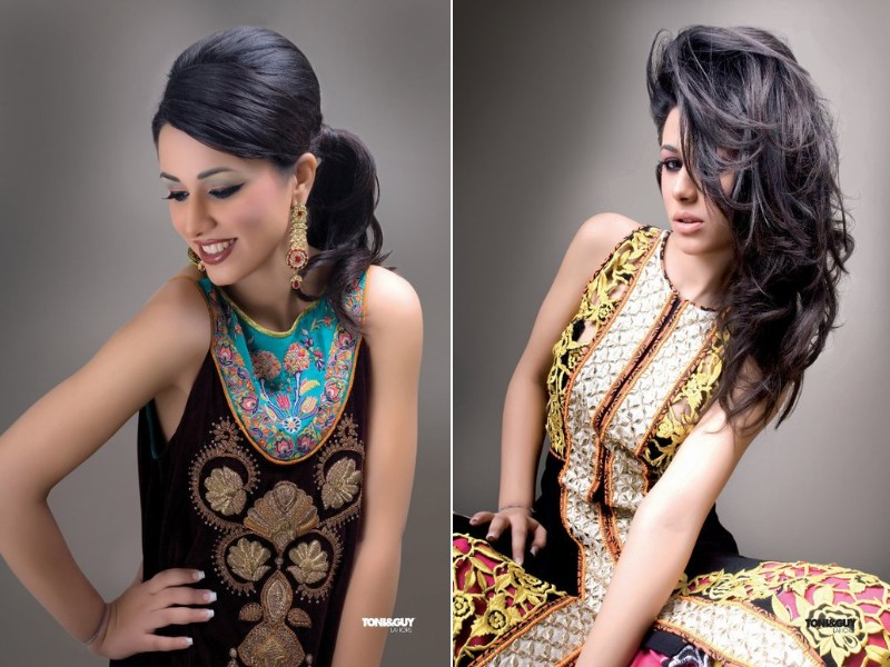 Bridal Hairstyle And Makeup Trend 2012 By TONI&GUY