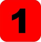digit 1 icon