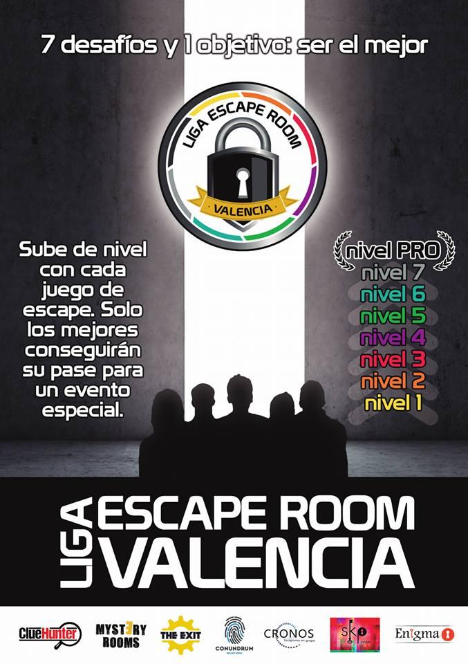 Ruta de Escape Room: Liga escape room Valencia