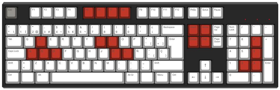 Tetris Gamer - Diseño teclado mecánico - dPunisher