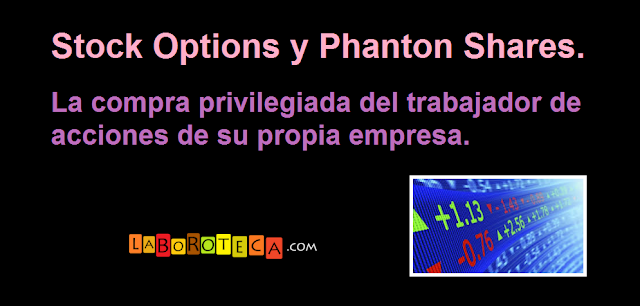 Stock options es salario