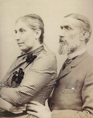 Jerónimo Ibrán y su esposa