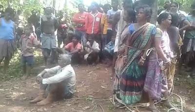 Lima Wanita Diikat dan Dipukuli Gara-gara Dianggap Penyihir, Suami Hanya Bisa Melongo