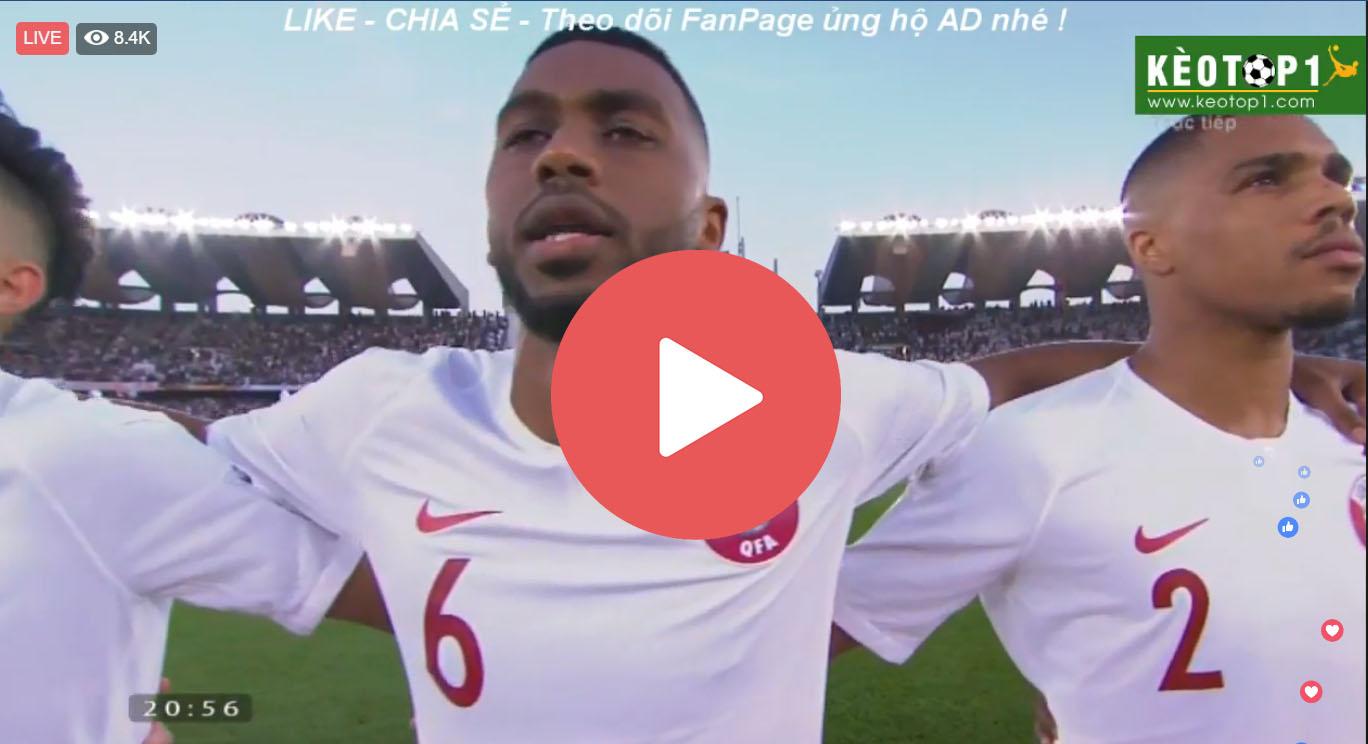 🔴 Trực tiếp bóng đá VTV5, VTV6 hôm nay Nhật Bản vs Qatar