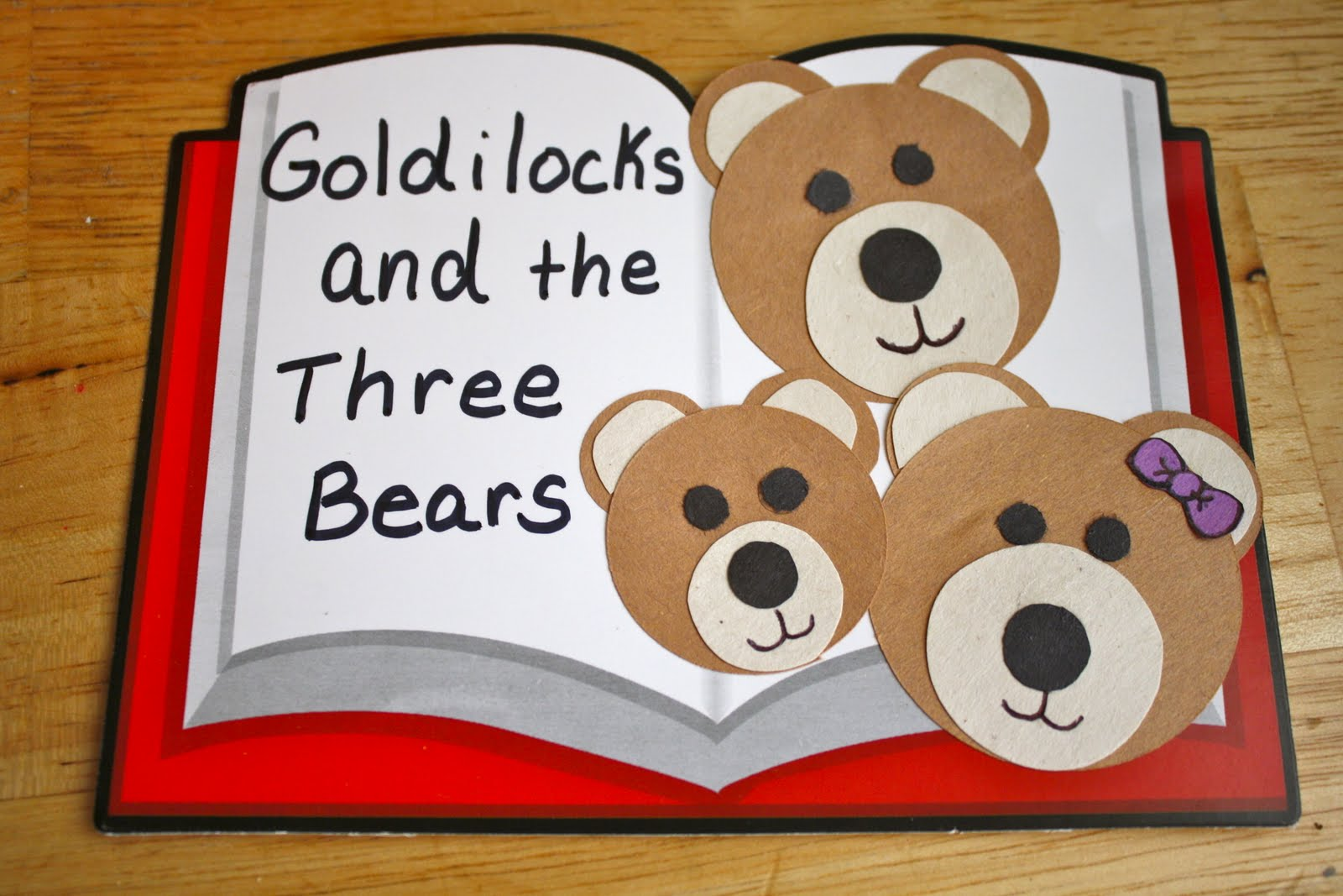 Pencils Proverbs Pandemonium Amp Pins Goldilocks And The Three Bears