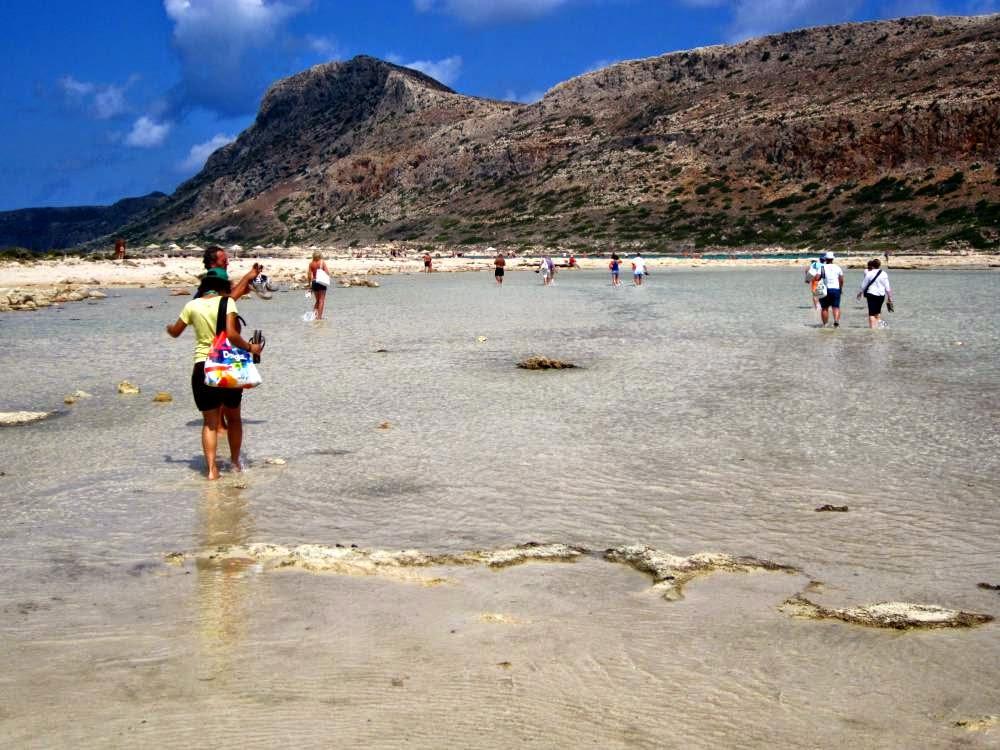Balos Lagoon in Crete