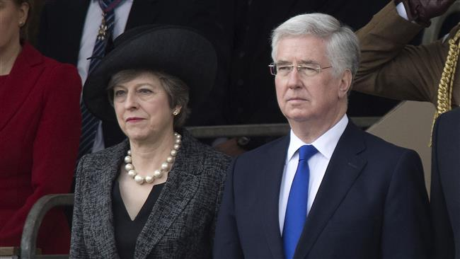 Michael Fallon denies divisions in UK Prime Minister Theresa May's election team
