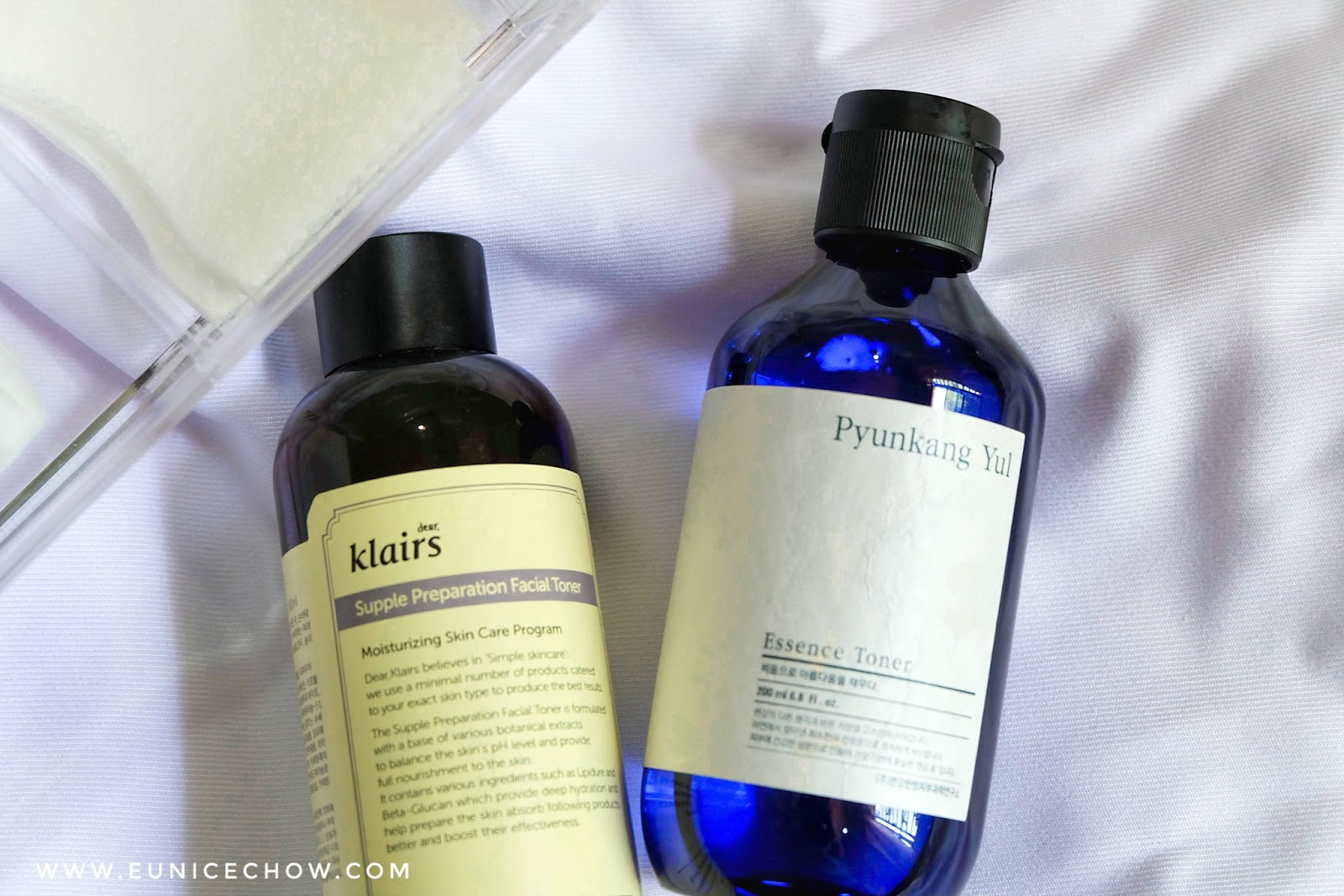 Toner Reviews: Pyunkang Yul Essence Toner V S  Klairs Supple