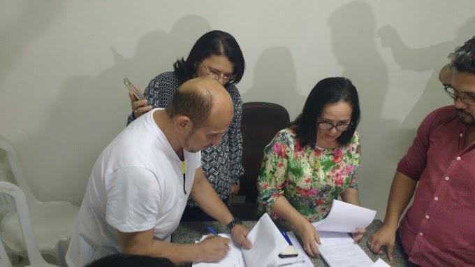 Reunião na prefeitura marca início da transição  em Chapadinha