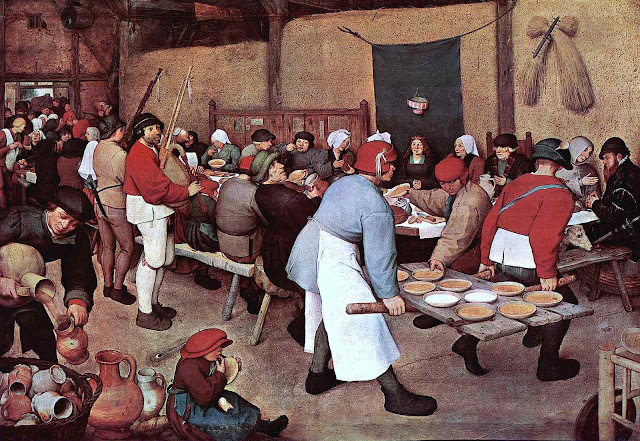 Pieter Bruegel the elder - lunch
