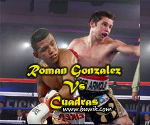 Pertandingan tinju Roman Gonzalez vs Carlos Cuadras