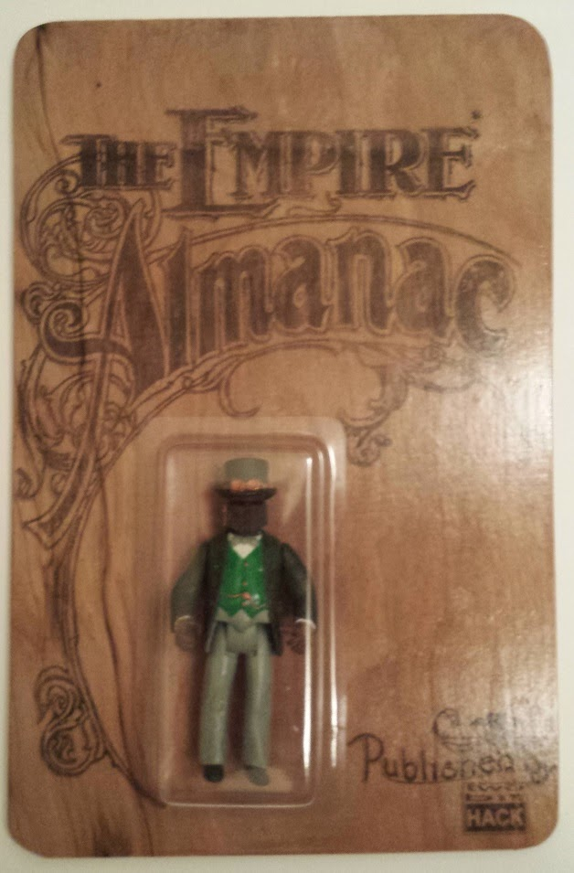 Empire Strikes Back Edition Dapper Fett The Empire Almanac Bootleg Star Wars Resin Figure by 2bitHACK