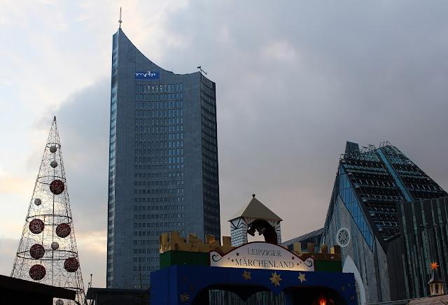 Weihnachtsmarkt Leipzig Augustusplatz