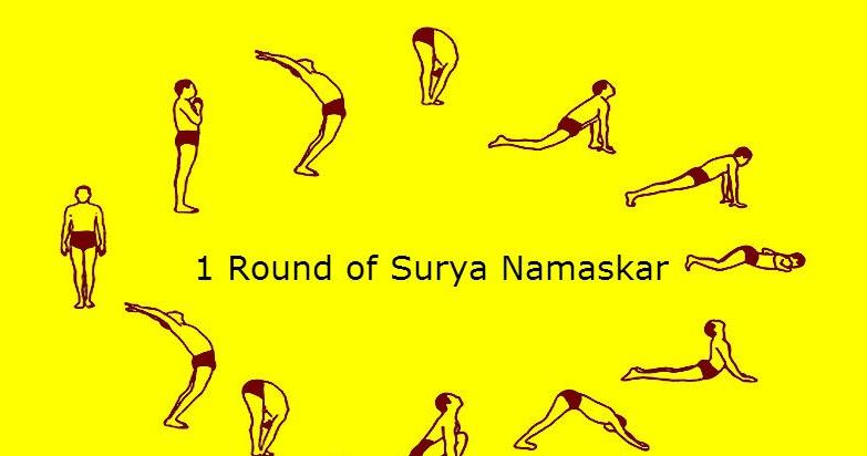 Surya Namaskar For Weight Loss and Yoga Asana Health Benefits