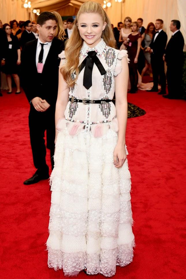 Chloë Grace Moretz in Chanel