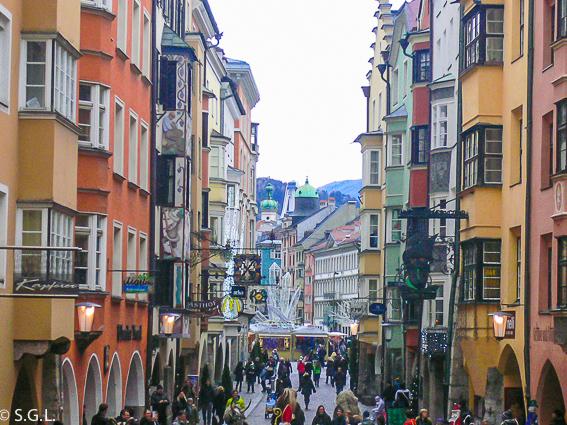 Altstadt de Innsbruck, la capital del tirol