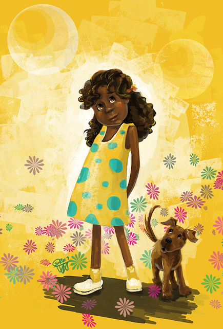 Girl in yellow by Traci Van Wagoner