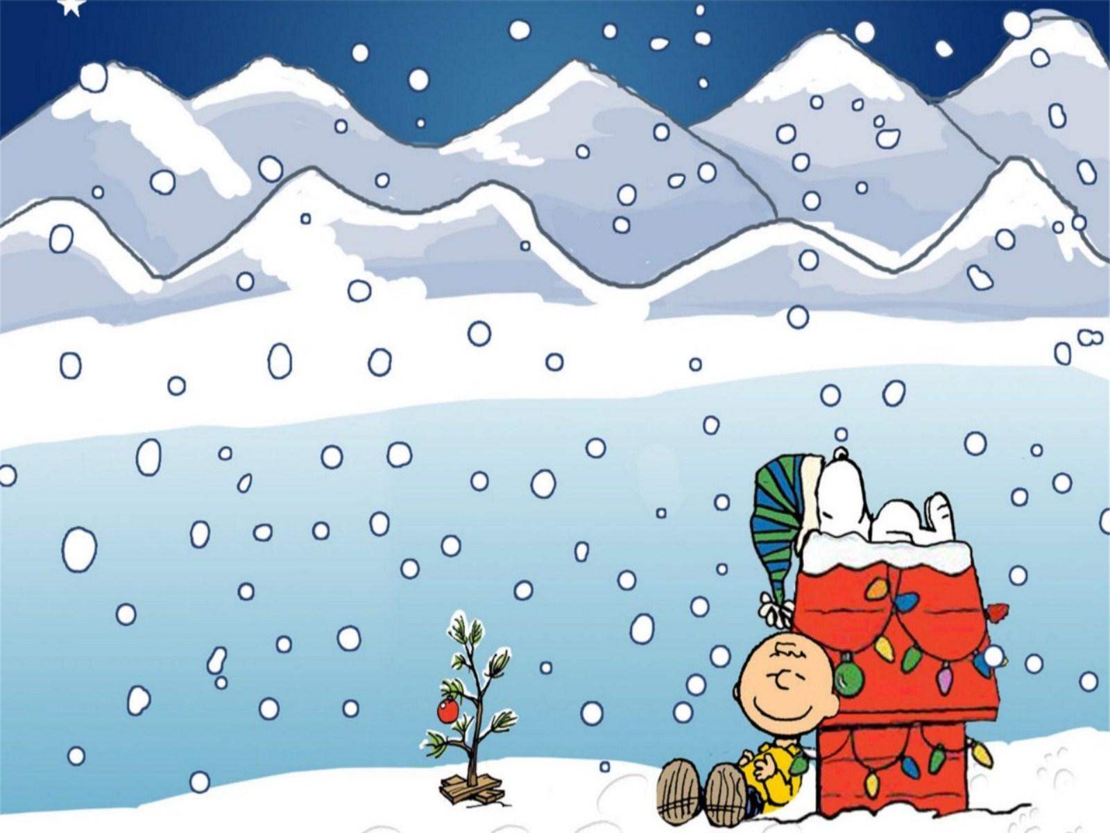Wallpaper Mansion Charlie Brown Christmas Wallpaper