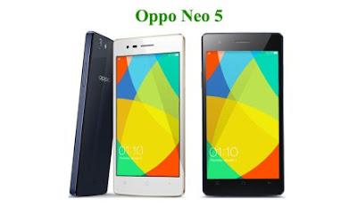 Harga Oppo Neo 5 baru, Harga Oppo Neo 5 bekas, Spesifikasi Oppo Neo 5