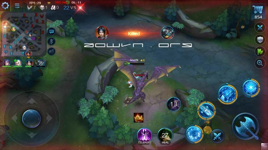 heroes evoled aowvn%2B%252812%2529 - Heroes Evolved - Game MOBA tuyệt hay trên Android & IOS