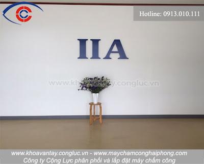 Công ty lắp đặt máy chấm công uy tín số 1 tại Hải Phòng. LH:0913010111