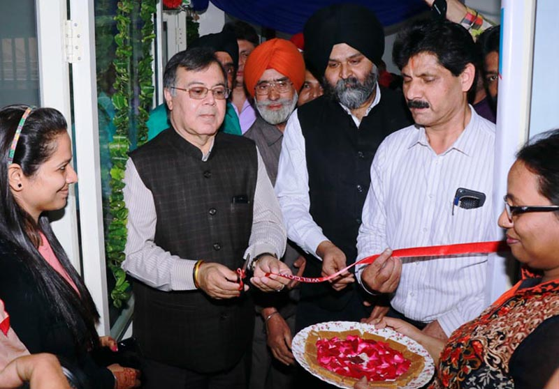 Ravindra Nath, Chairman-cum-Managing Director of NSIC inaugurating the regional office of National SC-ST Hub in Ludhiana today