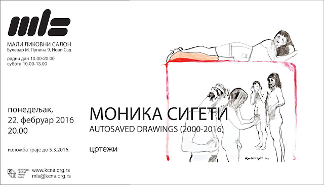 Izložba crteža Monike Sigeti