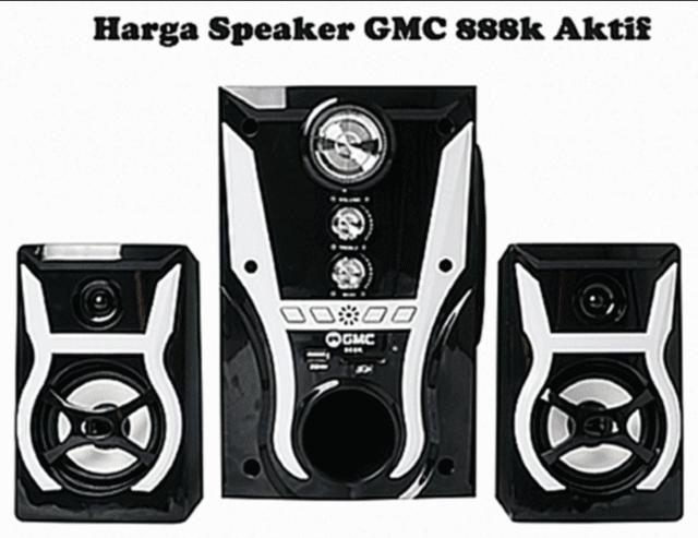 Harga Speaker GMC 888K Aktif Spesifikasi