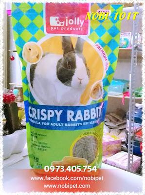 Thức ăn dinh dưỡng dành cho thỏ kiểng, bọ ú giá rẻ