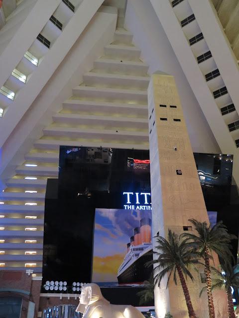 Luxor Las Vegas Attractions Level