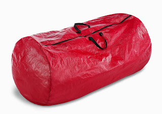 red cylinder duffel christmas tree storage bag click image for more details - Plastic Christmas Tree Storage Box