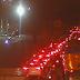 Avenida Felizardo Moura com trânsito lento sentido ZN