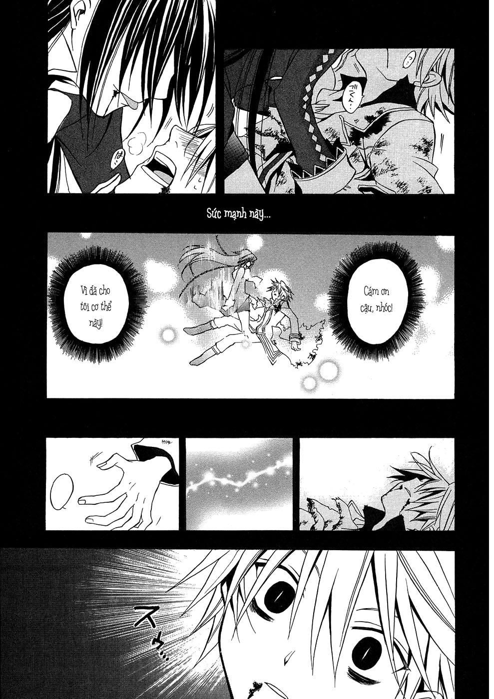 Pandora Hearts chương 003 - retrace: iii prisoner & alichino trang 36