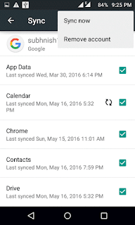 reset google account to fix google play store