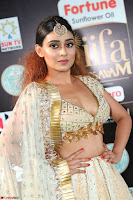 Apoorva in Cream Deep Neck Choli Ghagra WOW at IIFA Utsavam Awards 2017  (Telugu and Kannada) Day 2  Exclusive 03.JPG