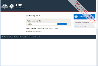 Лицензии ASIC не найдено